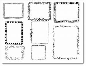 15 best images about doodle frames border labels on for Easiest way to print labels