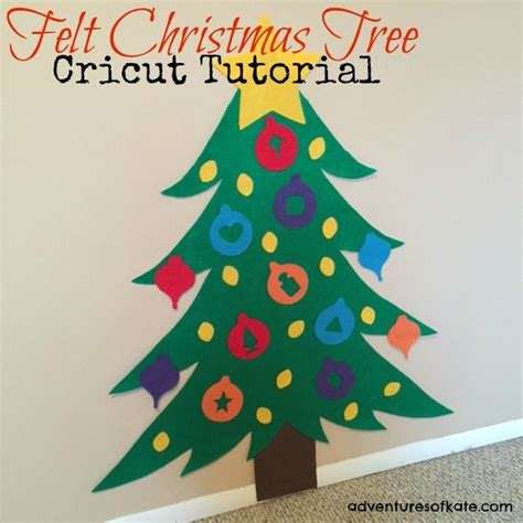 can you trim a christmas tree yes you can cut felt with your cricut even the expressions ii diy felt tree