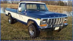 1978 F150 1  2 Ton Long Bed 4x4 Regular Cab Ranger Xlt Blue