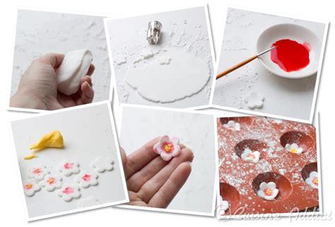 tuto cuisine tuto fleurs de cerisier et branches en pâte à sucre