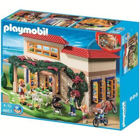 photo de maison playmobil playmobil 4857 maison de cagne achat vente univers miniature cdiscount