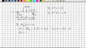 Auflagerkräfte Berechnen Formel : mechanik auflagerkr fte einfeldtr ger einzellast youtube ~ Themetempest.com Abrechnung