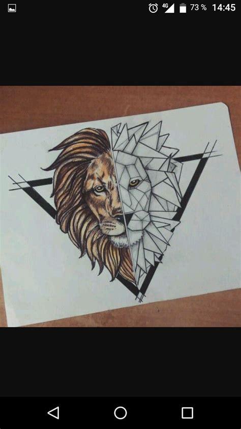 epingle par zaardbli sur origami lion tatouage