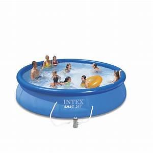 Norme Pour Piscine Hors Sol : piscine hors sol autoportante gonflable easy set intex ~ Zukunftsfamilie.com Idées de Décoration