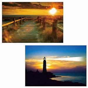 Bilder Mit Led Beleuchtung : 2x led bild mit beleuchtung leinwandbild wandbild wandtattoo beleuchtet see meer ebay ~ A.2002-acura-tl-radio.info Haus und Dekorationen