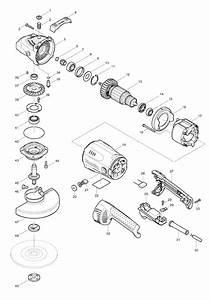 Buy Makita Ga7021 7 Inch Angle Replacement Tool Parts