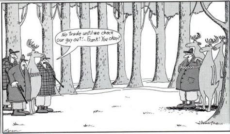 Far Side Cartoons Deer Hunting