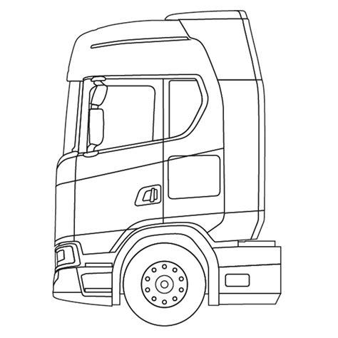 Kleurplaat Volvo Vrachtwagen by Kleurplaten Vrachtwagens Scania Archidev Beste