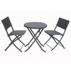 ensemble table ronde en m 233 tal avec deux chaises achat