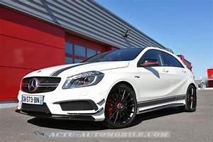 Mercedes Classe C Blanche : essai mercedes classe a 45 amg actu automobile ~ Gottalentnigeria.com Avis de Voitures