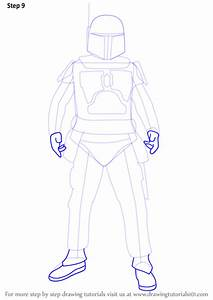 Learn How To Draw Boba Fett From Star Wars  Star Wars