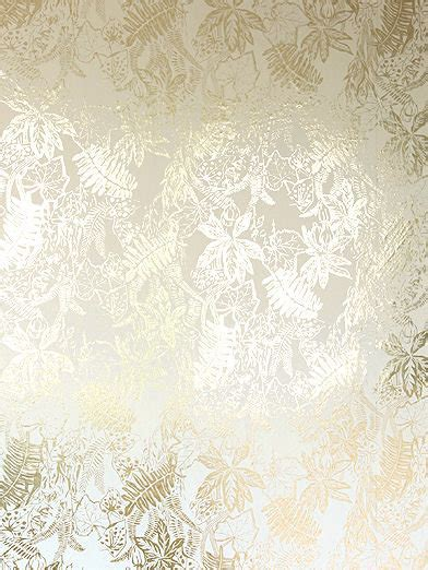 hothouse cream gold  erica wakerly wallpaper direct