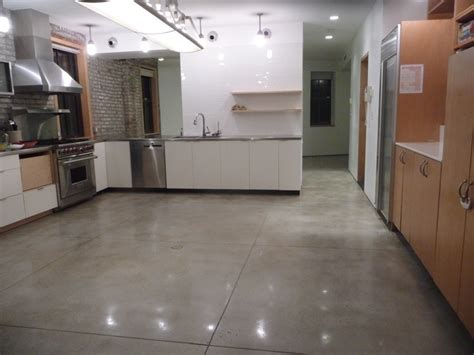polished concrete floor kitchen polished concrete slabs bk reno ideas 4301