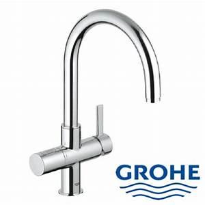 Wasserhahn mit sensor grohe heimdesign innenarchitektur for Wasserhahn küche grohe