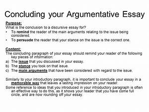 Conclusions for argumentative essays term papers samples examples of ...