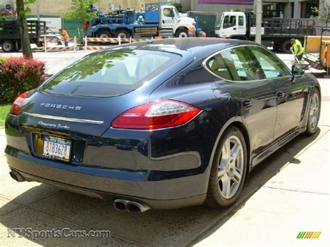 porsche panamera dark blue 2010 porsche panamera turbo in dark blue metallic photo