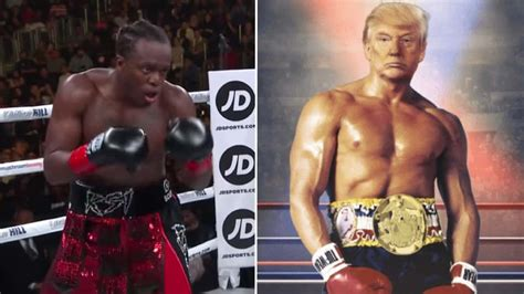 ksi trump rocky balboa after donald fight president tweet he body interested fighting head says presidents paul celebrating logan pic