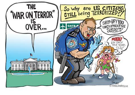 Tsa Stand For the tsa s war on terror is terrorizing american children