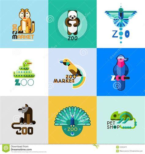 zoo pet animals market illustration vector preview crocodile