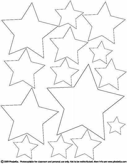 Coloring Stars Star Pages Printable Hearts Sheets