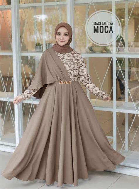 Mau tahu model kebaya yang cocok untuk pemakai hijab? 30+ Model Baju Kondangan Dress Hijab - Fashion Modern dan ...