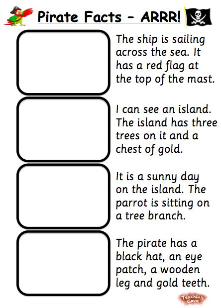 pirates resources  foundation  early ks printable