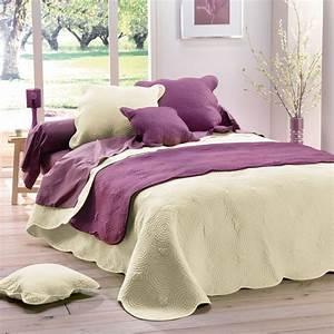 Couvre Lit Matelassé Ikea : couvre lit boutis matelass 220x240 naturel ~ Melissatoandfro.com Idées de Décoration