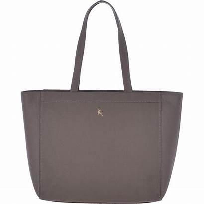 Leather Grey Handbag Handbags Company