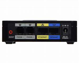 Cisco Spa122 Analog Adapter  Ata  With Router