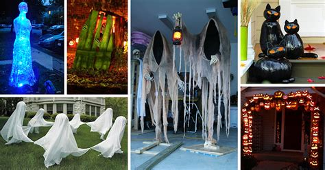 diy halloween outdoor decorations