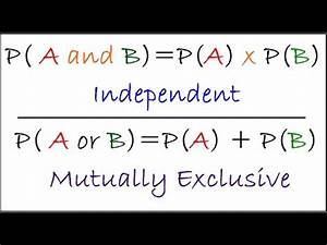 Dependent And Independent Events Probability Algebra 2