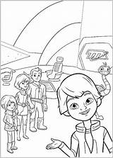 Miles Tomorrowland Coloring Morgen Kleurplaat Kidscloud Coloringtop sketch template