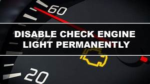 4 Step Guide On How To Disable Check Engine Light