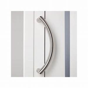 poignee de porte d39entree courbe en inox chez ilovedetails With poignee porte entree inox