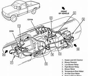 2001 Chevy Silverado Heater Hose Diagram