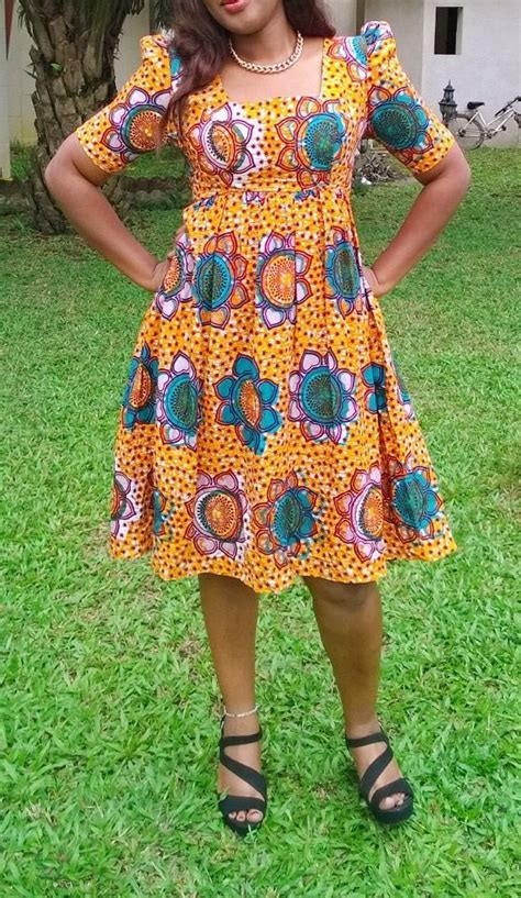 Robe Pagne Africain Robe En Pagne Wax Africain N 176 6 Choses Que J Adore Africans Robe And