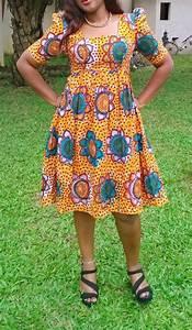 jolie robe courte en pagne With les jolies robes en pagne