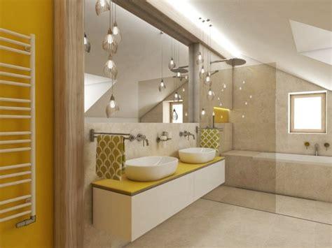 Kleines Bad Farblich Gestalten by Badezimmer Mit Dachschr 228 Ge Farblich Gestalten Idee