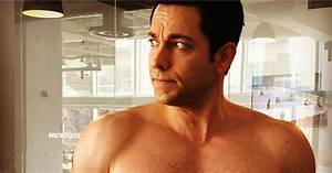 Zachary Levi Posts Shirtless Selfie After People Wonder if