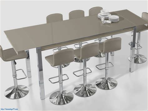 extensible de cuisine table haute bar extensible meilleur de collection et table