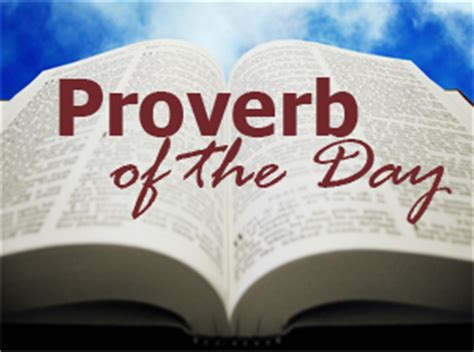 proverbs  artinya
