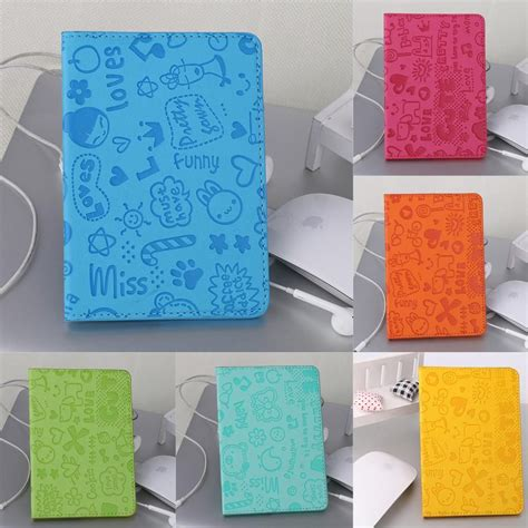 cute anime passport holder  images business cards