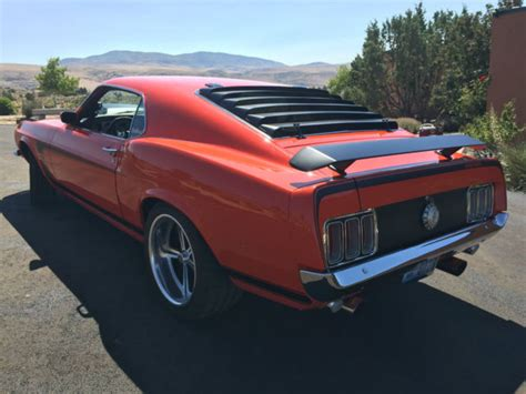 1970 Ford Mustang Boss 429 Restomod Protouring W Kaase