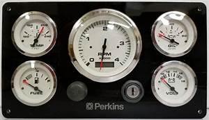 Perkins Marine Instrument Panel 12 U2033x 6 75 U2033  U2013 Ac Dc Marine