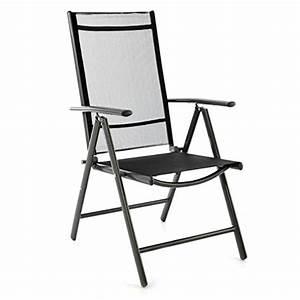 klappstuhl aluminium gartenstuhl campingstuhl verstellbar With französischer balkon mit garten klappstuhl mit armlehne