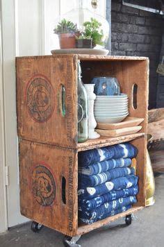 repurposed vintage red radio flyer wagon shelf paradise