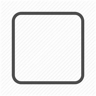 Empty Square Blank Check Icon Icons Editor