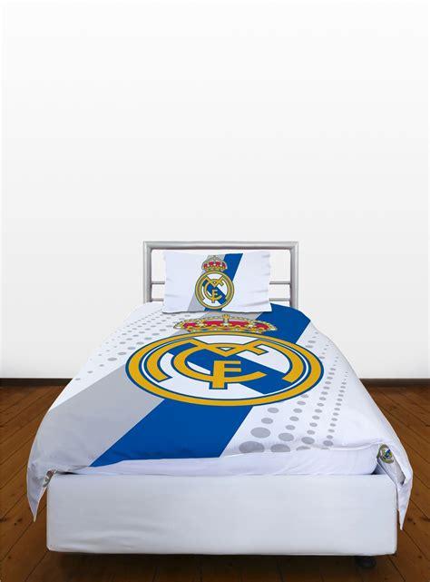 accessoires de chambre football aux couleurs du madrid