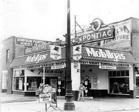Toyota Dealerships In Michigan by Pontiac Wyandotte Mi Early 1940s Gas