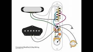 Modified 4-way Telecaster Mod